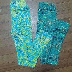 Kids Lularoe leggings NWT ..2 pack